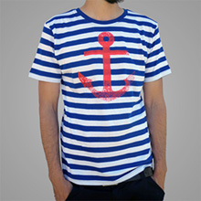 Anker T-Shirt (gestreift)